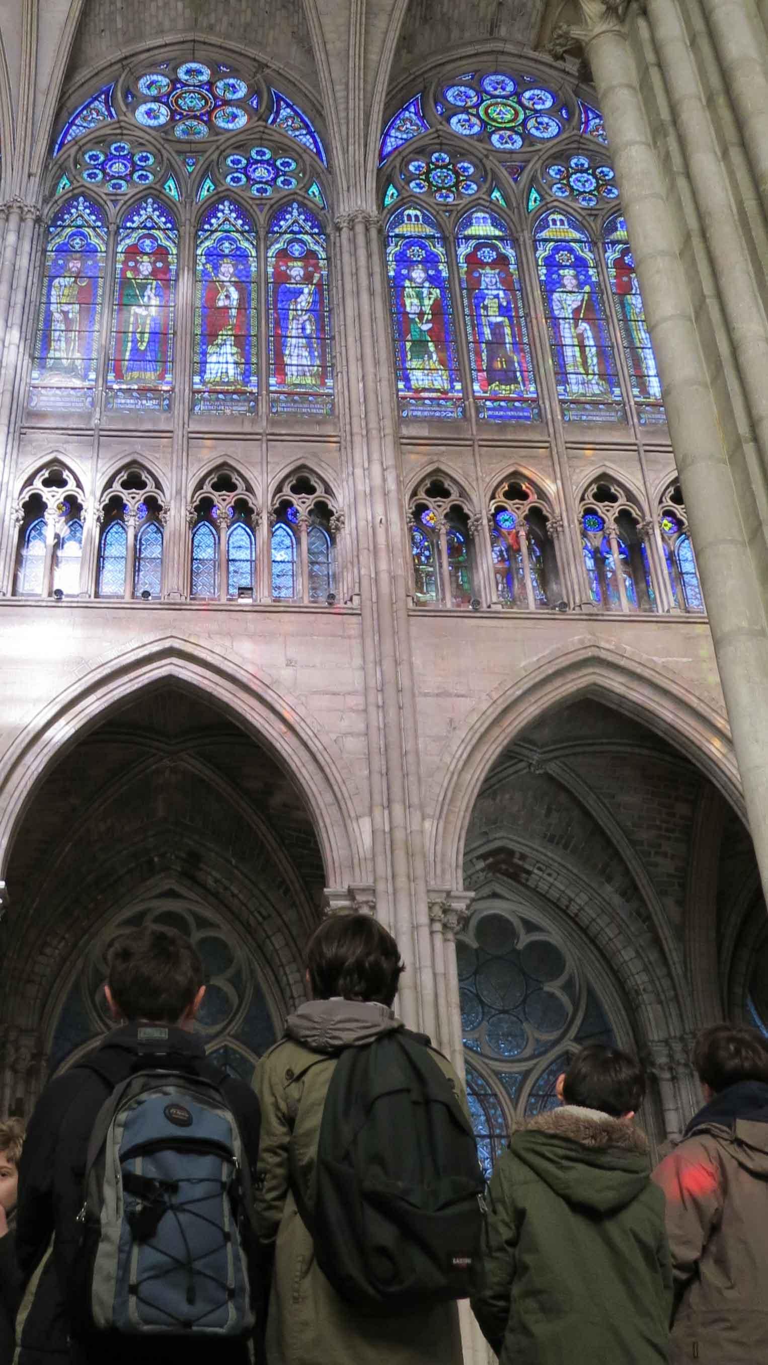 Visite de la Basilique de Saint-Denis avec les Pep 75