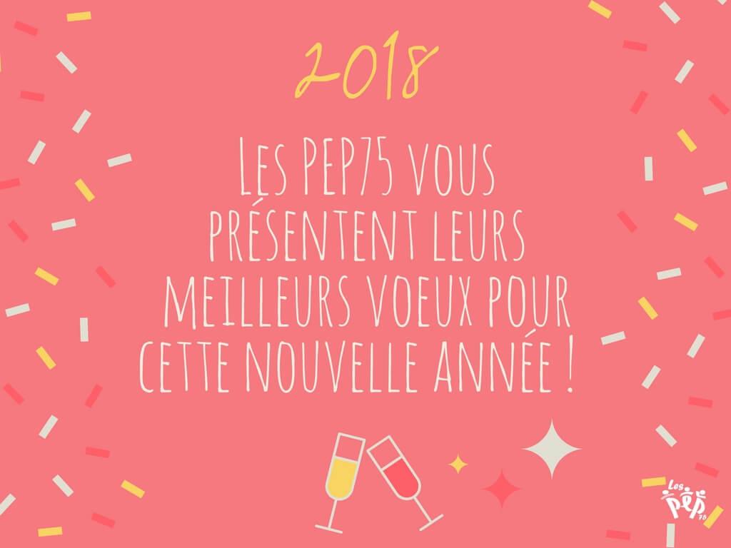 Les PEP75 Vous Présentent Leurs Meilleurs Voeux Pour Cette Nouvelle Année ! (6)
