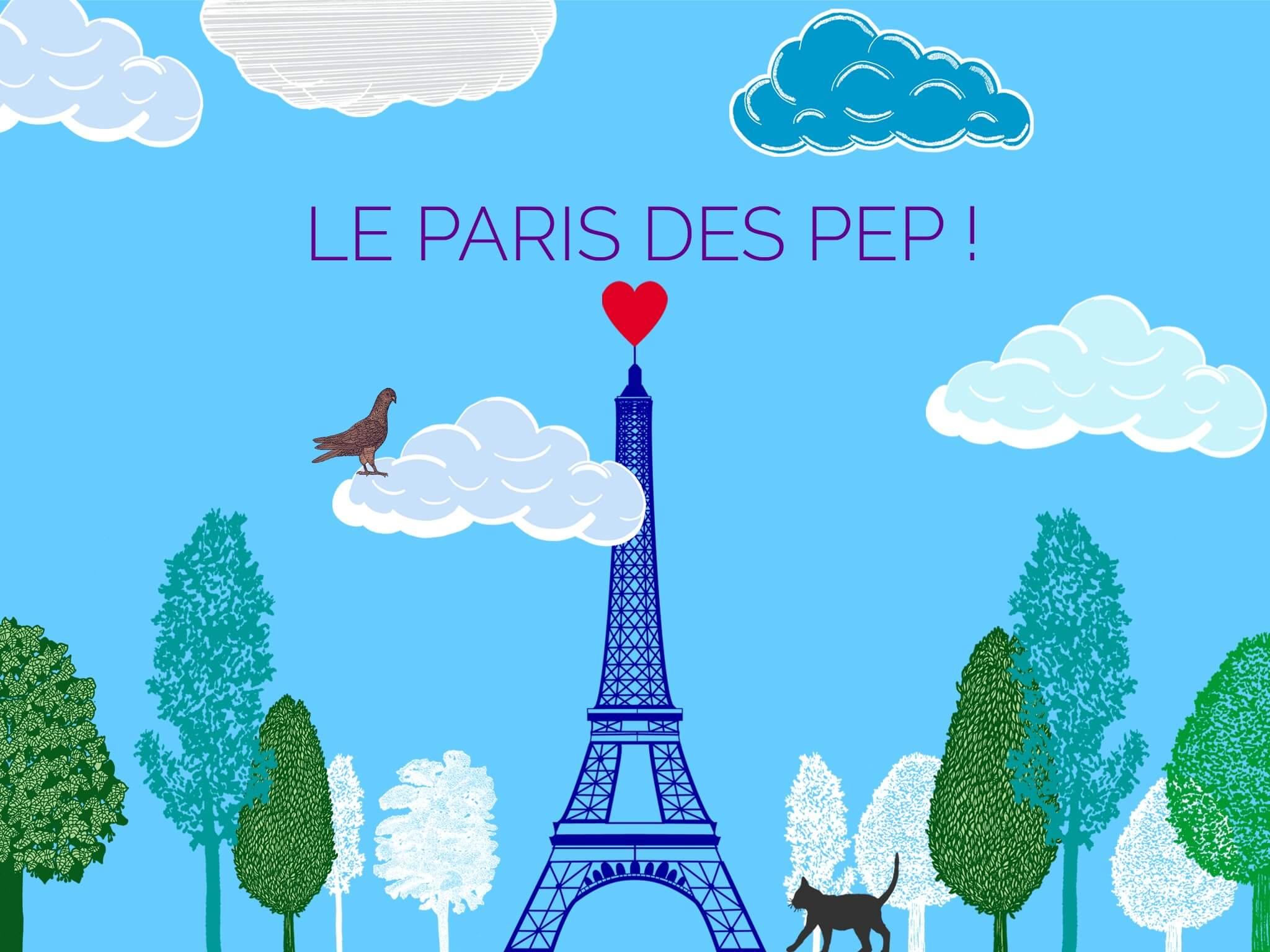 Nouveauté : Dès Aujourd'hui Faites Le Paris Des PEP !