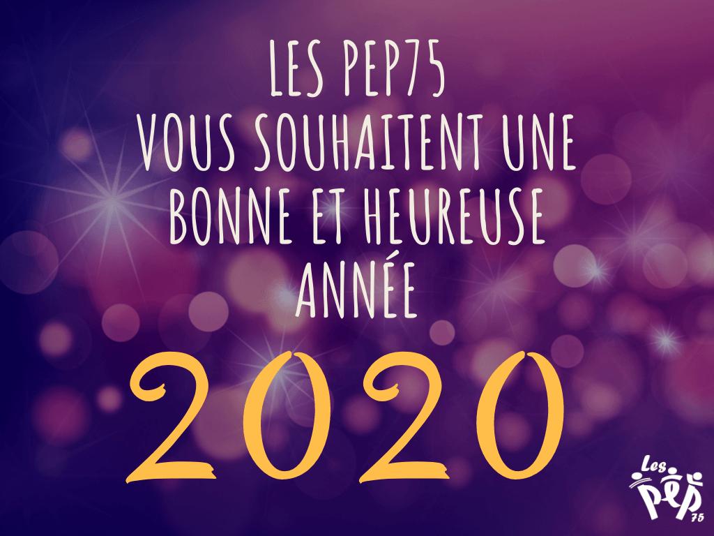 PEP75 Voeux 2020
